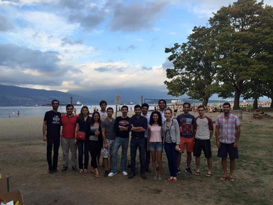 Summer BBQ at Locarno Beach